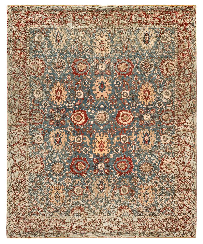 Picture of a Bidjar Paddington Dawn rug