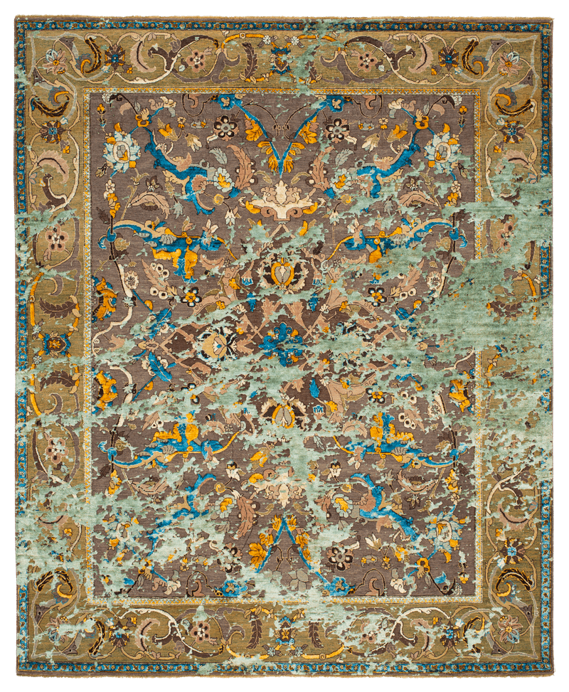 Picture of a Polonaise Greenford Sky rug
