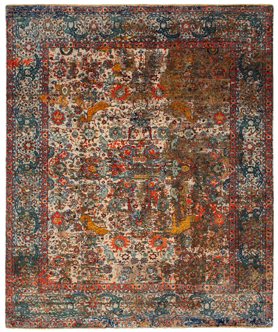 Picture of a Kirman Jungle Artwork 18 rug