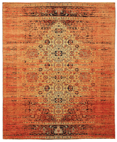 Picture of a Serapi Queensbury Stomped rug