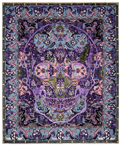 Picture of a Skull 3 in cooperation with Entrance to Heaven rug