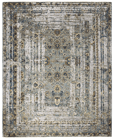 Picture of a Kirman Flower Frame rug