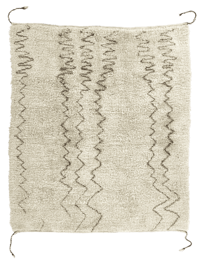 Picture of a Liquid Zigzag rug
